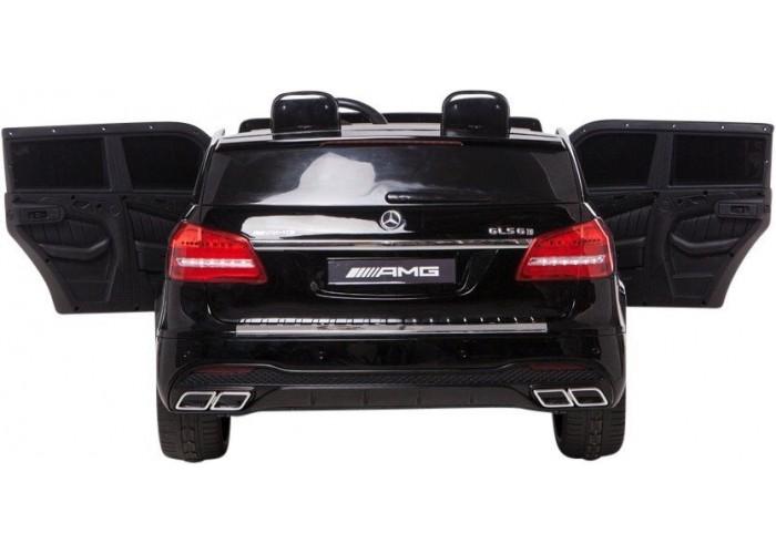 Детский электромобиль Mercedes Benz GLS63 LUXURY 4x4 12V 2.4G - Black - HL228-LUX-B