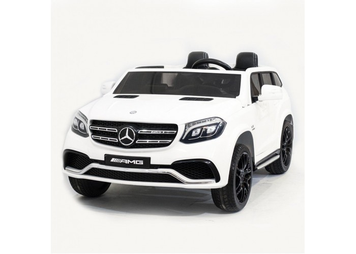Детский электромобиль Mercedes Benz GLS63 LUXURY 4x4 12V 2.4G - White - HL228-LUX-W