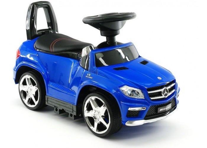 Детский электромобиль - каталка Mercedes GL63 AMG Blue LUXURY - SX1578H