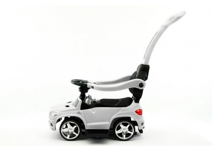 Детский электромобиль - каталка Mercedes GL63 AMG White LUXURY - SX1578H
