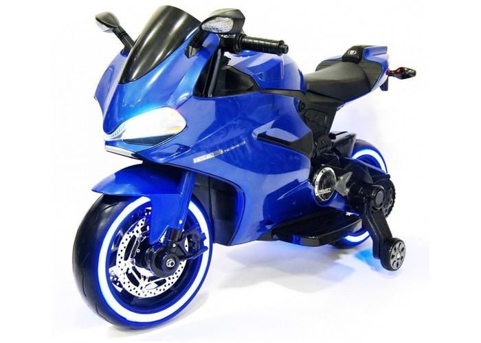 Детский электромобиль - мотоцикл Ducati Blue - SX1628-G