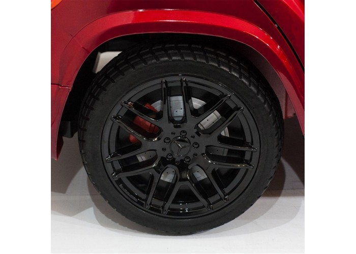 Детский электромобиль Mercedes Benz GLS63 LUXURY 4x4 12V 2.4G - Red - HL228-LUX-R