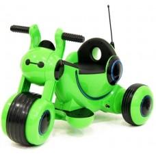 Детский электромотоцикл HL300 Green 6V - HL300-G