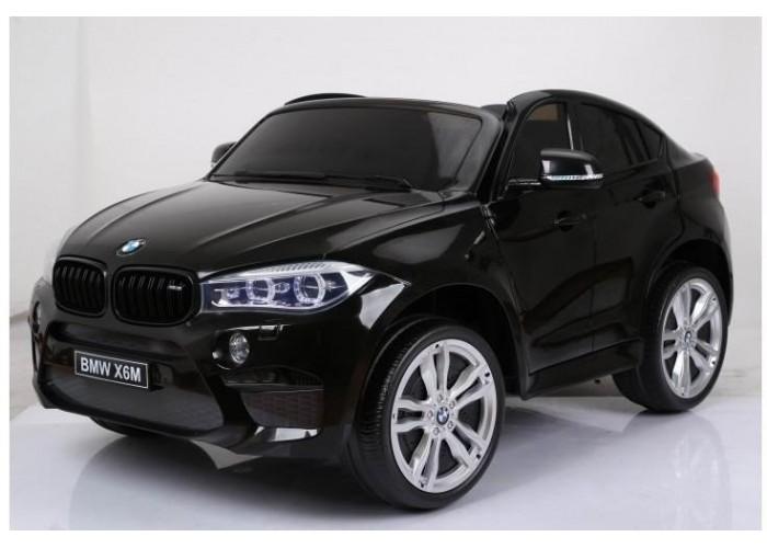 Детский электромобиль BMW X6M Black 12V - JJ2168