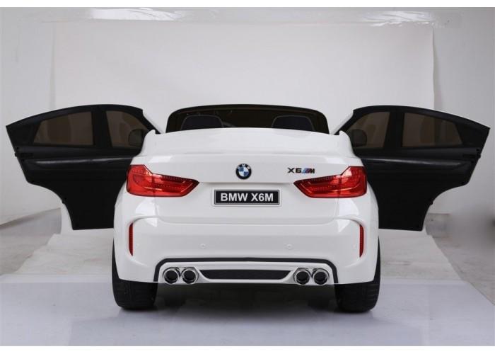 Детский электромобиль BMW X6M White 12V - JJ2168-W
