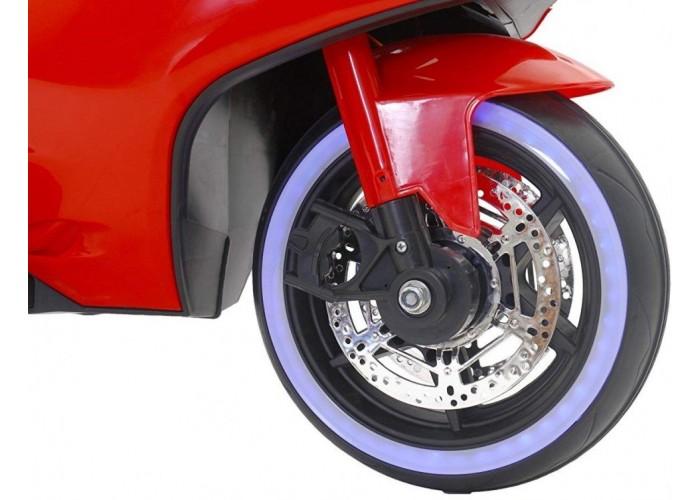 Детский электромотоцикл Ducati Red 12V - FT-1628-RED