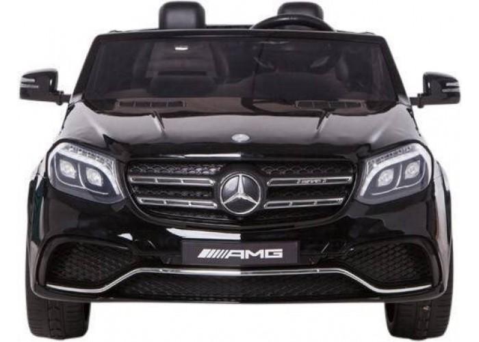 Детский электромобиль Mercedes Benz GLS63 LUXURY 4WD 12V MP4 - Black - HL228-LUX-MP4