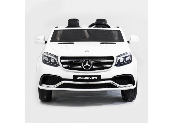 Детский электромобиль Mercedes Benz GLS63 LUXURY 4WD 12V MP4 - White - HL228-LUX-MP4