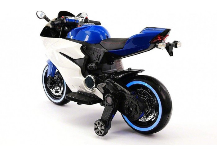 Детский электромотоцикл Ducati 12V - FT-1628-BLUE-WHITE