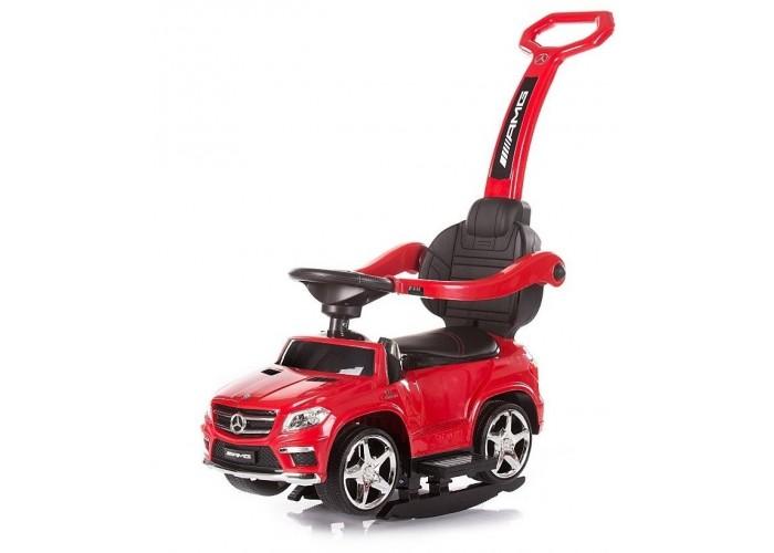 Детский электромобиль - каталка Mercedes GL63 AMG Red LUXURY - SXZ1578-H