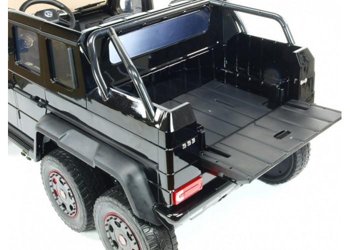Двухместный электромобиль Mercedes Benz G63 6x6 4WD - ABL1801-BLACK-PAINT