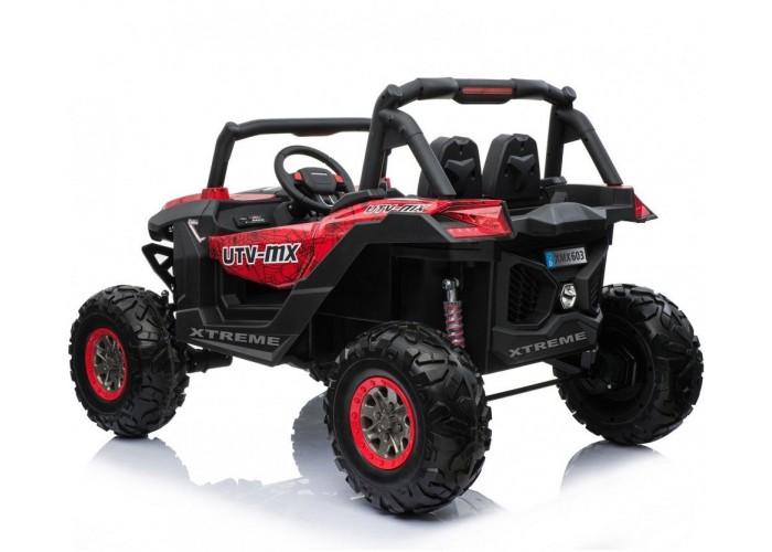 Двухместный полноприводный электромобиль Red Spider UTV-MX Buggy 12V - XMX603-RED-PAINT