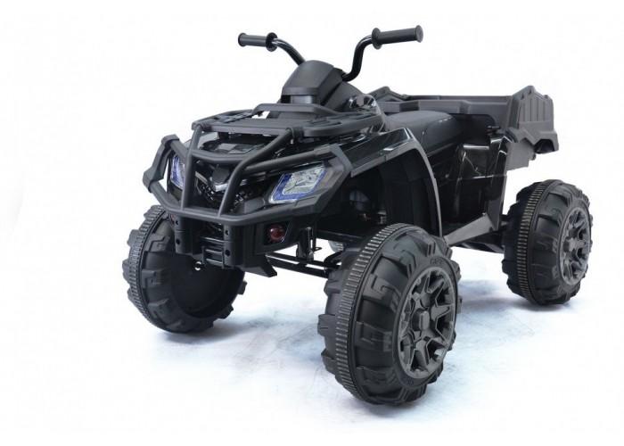 Детский квадроцикл Grizzly Next Black 4WD с пультом управления 2.4G - BDM0909