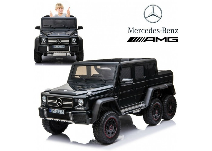 Детский электромобиль Merсedes-Benz G63 AMG Black 4WD - DMD-318-BLACK-PAINT