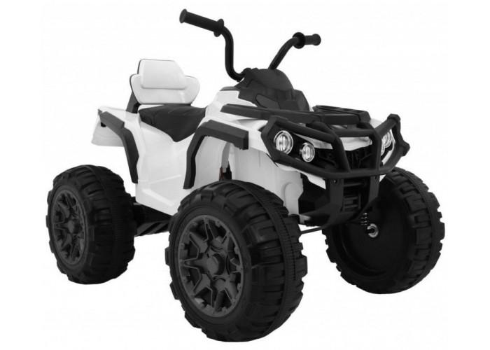 Детский квадроцикл Grizzly ATV 4WD White 12V с пультом управления - BDM0906-4