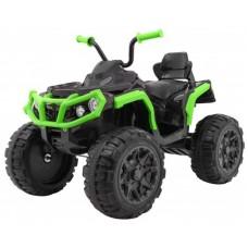 Детский квадроцикл Grizzly ATV Green/Black 12V с пультом управления - BDM0906