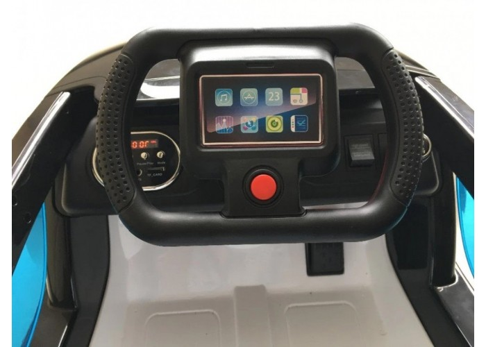 Детский электромобиль Apple iCar 12V - WHITE - HL208