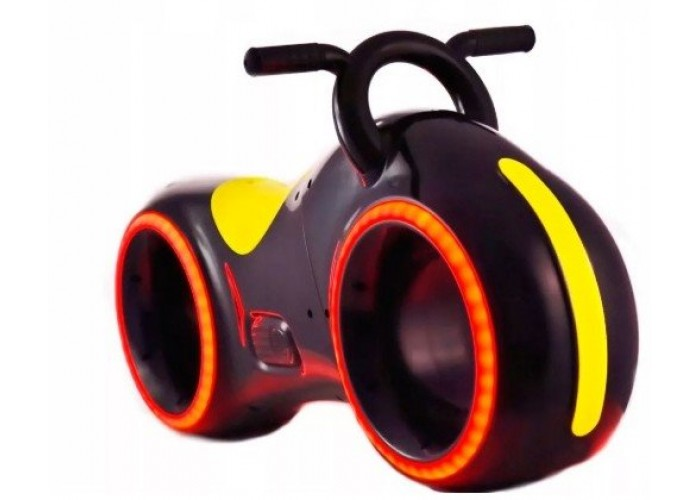 Беговел Star One Scooter - DB002-BLACK-YELLOW