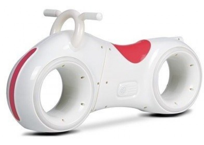 Беговел Star One Scooter - DB002-WHITE-RED