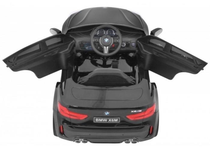 Детский электромобиль BMW X6M Black - JJ2199