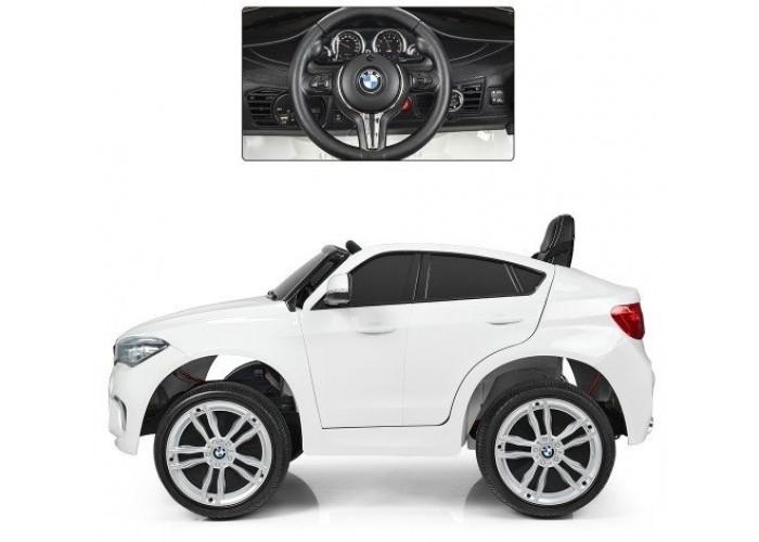 Детский электромобиль BMW X6M White - JJ2199
