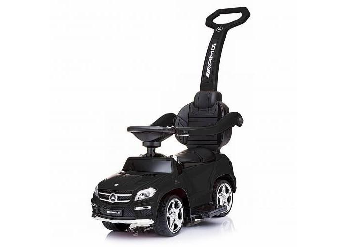 Детский электромобиль - каталка Mercedes GL63 AMG Black LUXURY - SX1578H