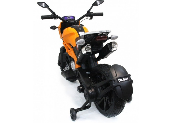 Детский электромотоцикл Harley Davidson - DLS01-ORANGE