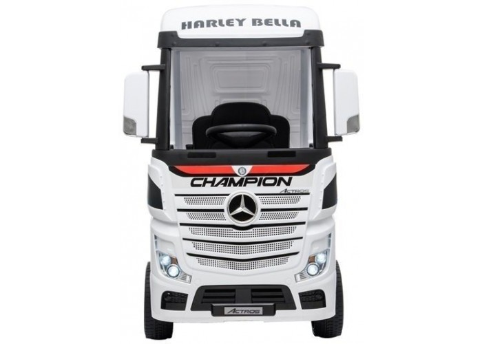 Детский электромобиль фура Mercedes-Benz Actros 4WD 12V - HL358-LUX-WHITE