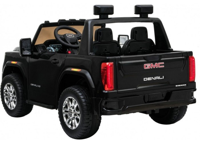Детский электромобиль GMC Sierra Denali 4WD 12V - BLACK - HL368