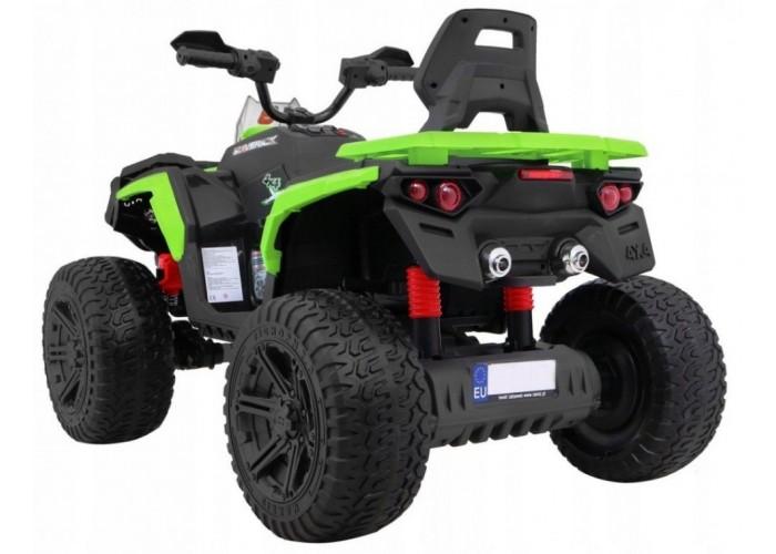Детский квадроцикл Maverick ATV 12V 4WD - BBH-3588-4-GREEN