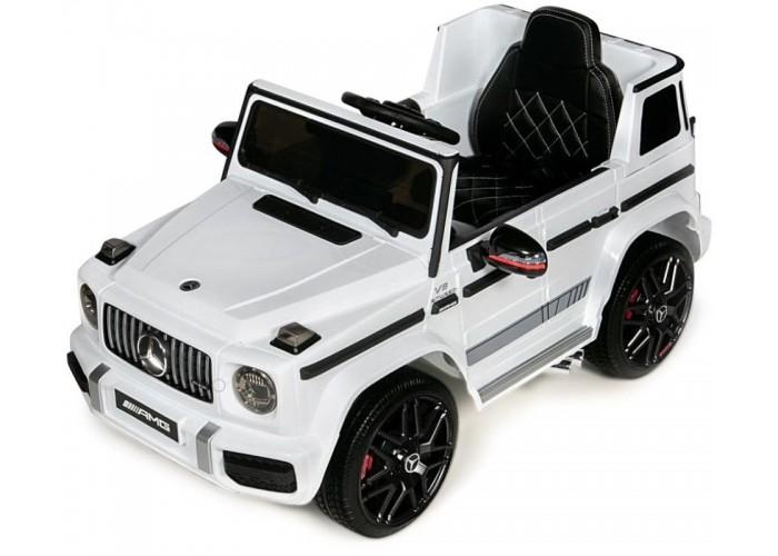 Детский электромобиль Mercedes-Benz G63 AMG 12V - BBH-0003-WHITE
