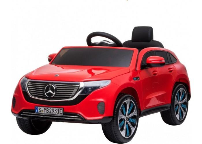 Детский электромобиль Mercedes Benz EQC 400 4MATIC - HL378-LUX-RED