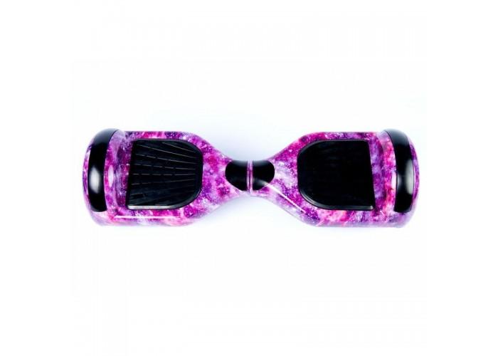 Гироскутер 6,5 PREMIUM Фиолетовый космос APP 2.8 Самобалансир