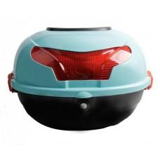Голубой кофр багажный для Электроскутеров Cityсoco