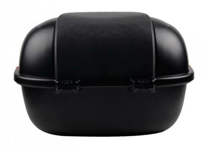Кофр багажный  для citycoco черный матовый