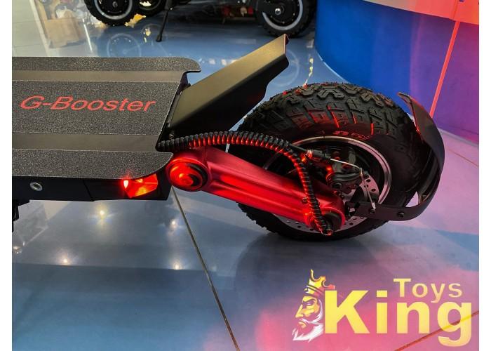 Электросамокат Kugoo G-Booster 23Ah 48V 2400W (Обновление 2020) с 2мя линзами