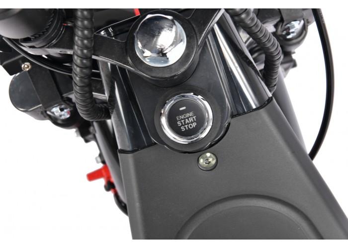 Электроскутер WS-PRO 2WD 4000W 20AH (полноприводный 2*2000W) Обновленный Новинка 2021 года!