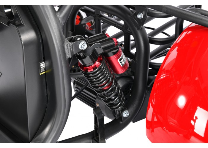 WS-PRO + TRIKE 3000W 60V 21Ah Красный Обновленный Новинка 2021 года!